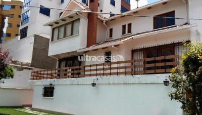 Casa en Venta en La Paz Obrajes Av 14 de septiembre