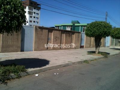 Terreno en Venta en Cochabamba Noroeste