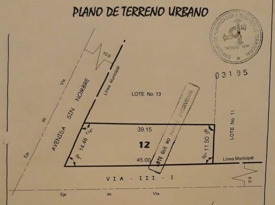 Terreno en Venta Chaparral II, Trinidad Beni Foto 1