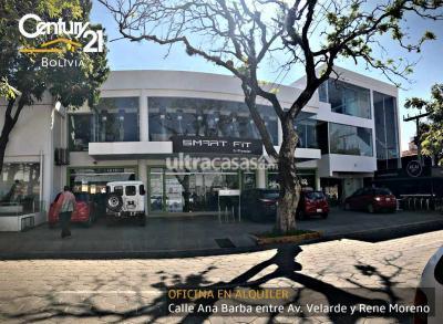 Oficina en Alquiler en Santa Cruz de la Sierra 2do Anillo Sur Calle Ana Barba entre Av. Velarde y Rene Moreno