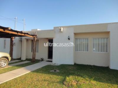 Casa en Alquiler en Santa Cruz de la Sierra Carretera Norte Condominio Sevilla Las Terrazas I