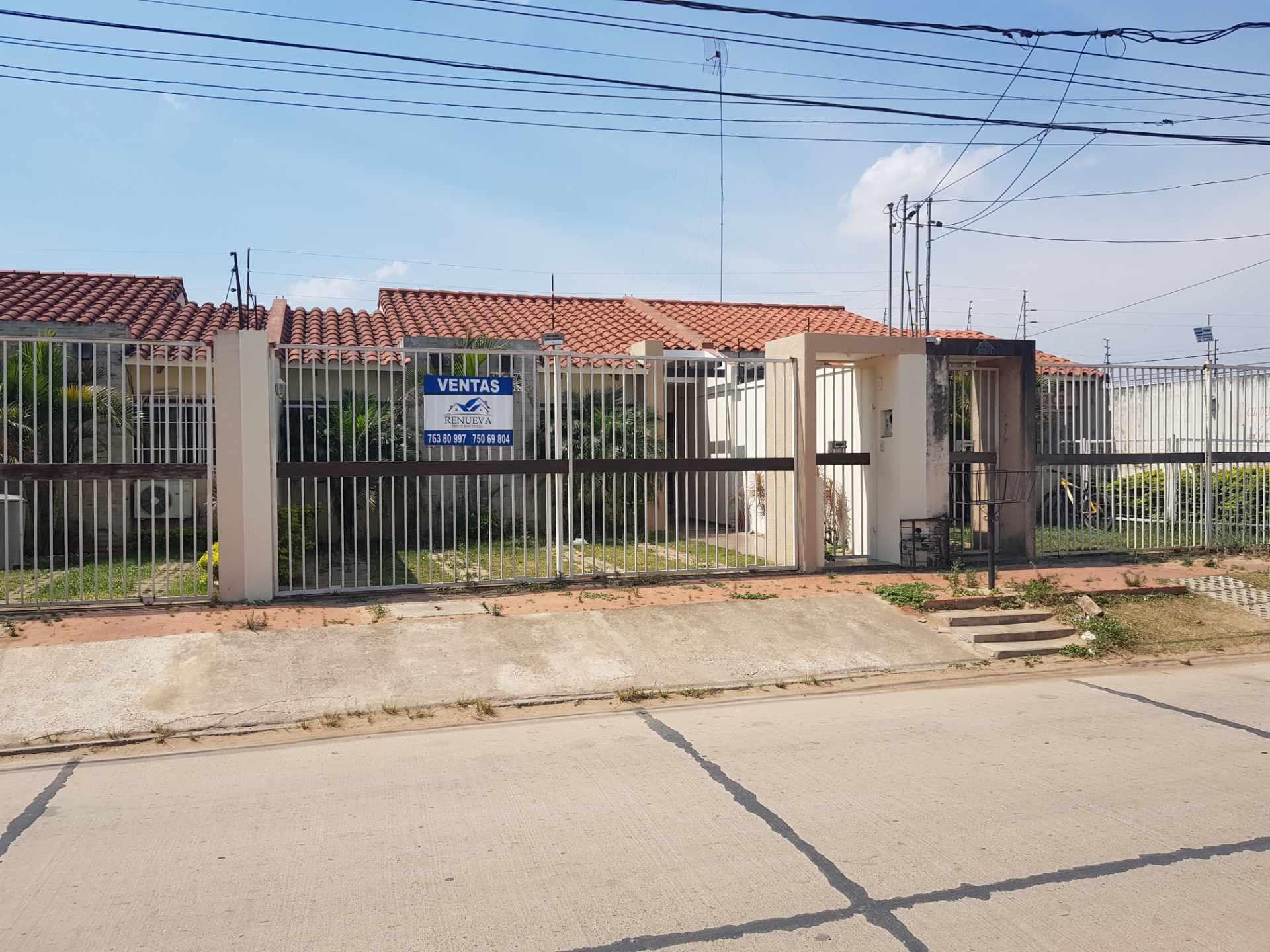 Casa en Venta Urb. Chiriguano zona Av. Santos dumont 6° y 7° Foto 1