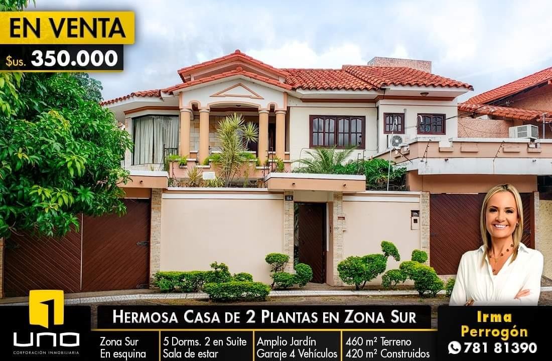 Casa en Venta Hermosa casa en venta Z/Sur a solo 100mts del Parque Urbano Foto 1