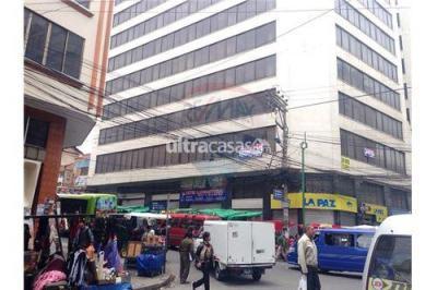 Casa en Venta en La Paz Centro Calle Illampu No.750 esq. Santa Cruz