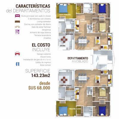 Departamento en Venta en La Paz Achumani Lomas de Achumani