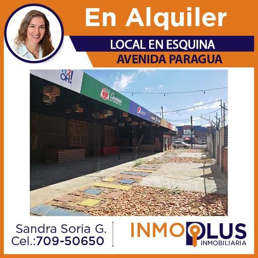 Local comercial en Alquiler LOCAL EN ALQUILER SOBRE AV PARAGUA Foto 1