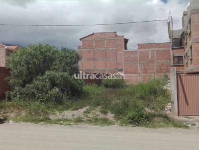 Terreno en Venta en Cochabamba Tiquipaya Calle innominada, cerca a la Calle Aguas Potables, mercado de dos pisos en construcción