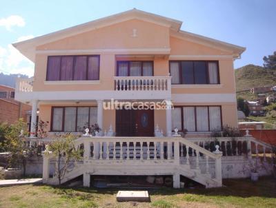 Casa en Venta en La Paz Chasquipampa Urbanización Rosas de Calacalani calle 38 No. 3