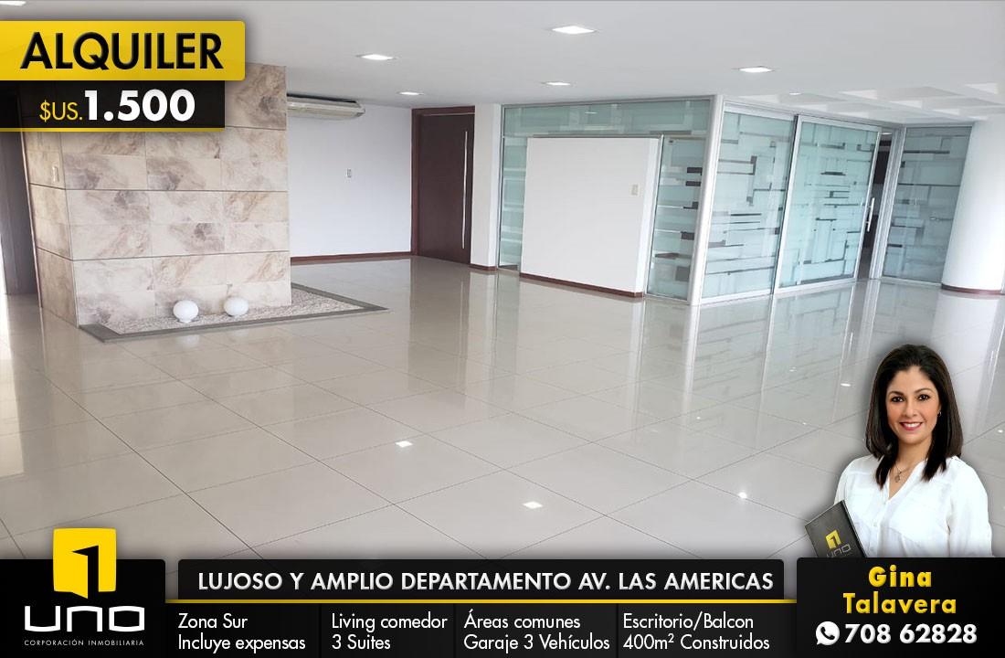 Departamento en Alquiler Av. Las Americas Foto 1