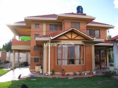 Casa en Venta en Cochabamba Condebamba CHALET EN VENTA EN CHIQUICOLLO -  ZONA OESTE SOBRE  -  1.030m2  DE SUP,