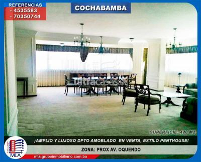 Departamento en Venta en Cochabamba Centro