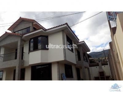 Casa en Venta en Cochabamba Aranjuez Casa amplia Estrenar Templo Mormon