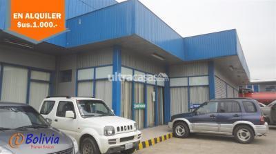 Galpón en Alquiler en Santa Cruz de la Sierra 4to Anillo Este Zona Parque Industrial, sobre 4to. Anillo Av. Paragua