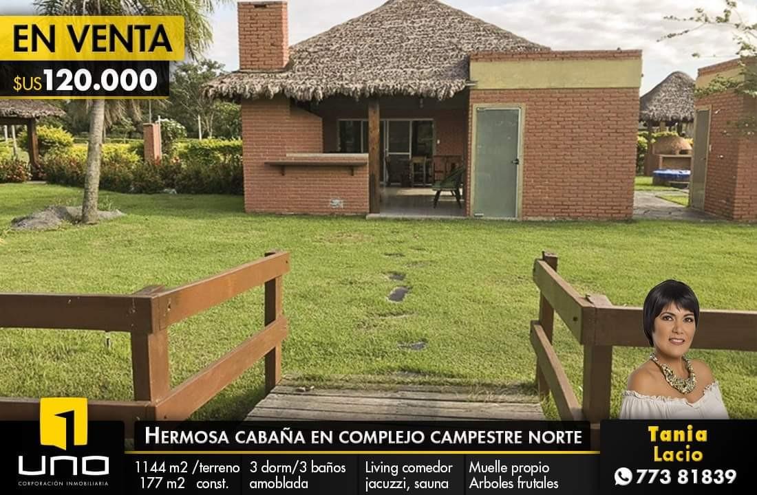 Terreno en Venta  Complejo Campestre Norte Warnes Foto 1