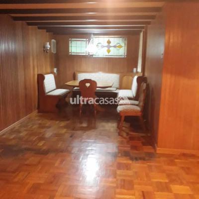 Casa en Alquiler en La Paz Calacoto CALACOTO