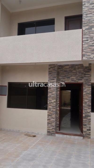 Casa en Venta en Santa Cruz de la Sierra 6to Anillo Oeste VENDO CASA A ESTRENAR EN LA AV. SANTOS DUMOND