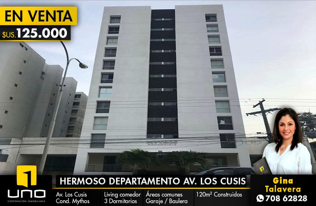 Departamento en Venta Avenida Los Cusis Foto 1