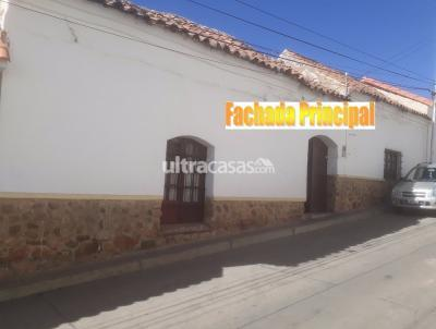 Casa en Venta en Sucre Sucre Dalence 548