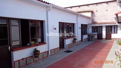 Casa en Venta en Sucre Sucre Olañeta, a dos cuadras del parque Bolivar