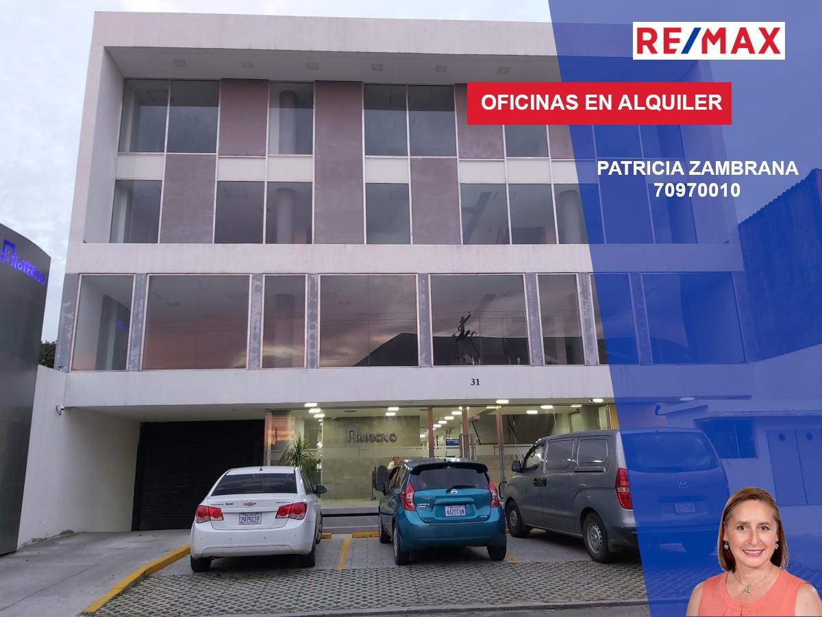 Oficina en Alquiler Calle Roboré paralela al 2do anillo Foto 1