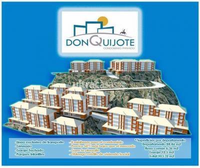 Departamento en Venta en La Paz Mallasa DEPARTAMENTOS  PREVENTA CONDOMINIO  QUIJOTE -JUPAPINA