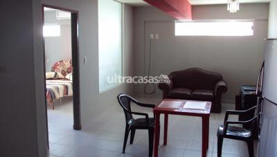 Departamento en Alquiler en Santa Cruz de la Sierra 1er Anillo Sur Calle Velasco, entre Lemoine  y La Riva Teléfono 70846131