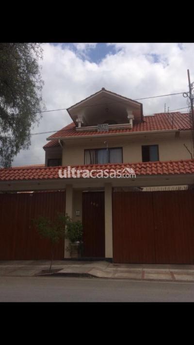 Casa en Venta en Cochabamba Temporal Calle Wiñay Tata