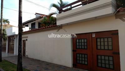 Casa en Alquiler en Santa Cruz de la Sierra 1er Anillo Sur Calle Cobija N 644