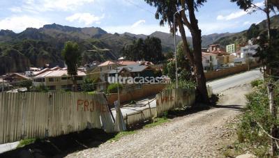 Terreno en Venta en La Paz Achumani Achumani avenida de las madres
