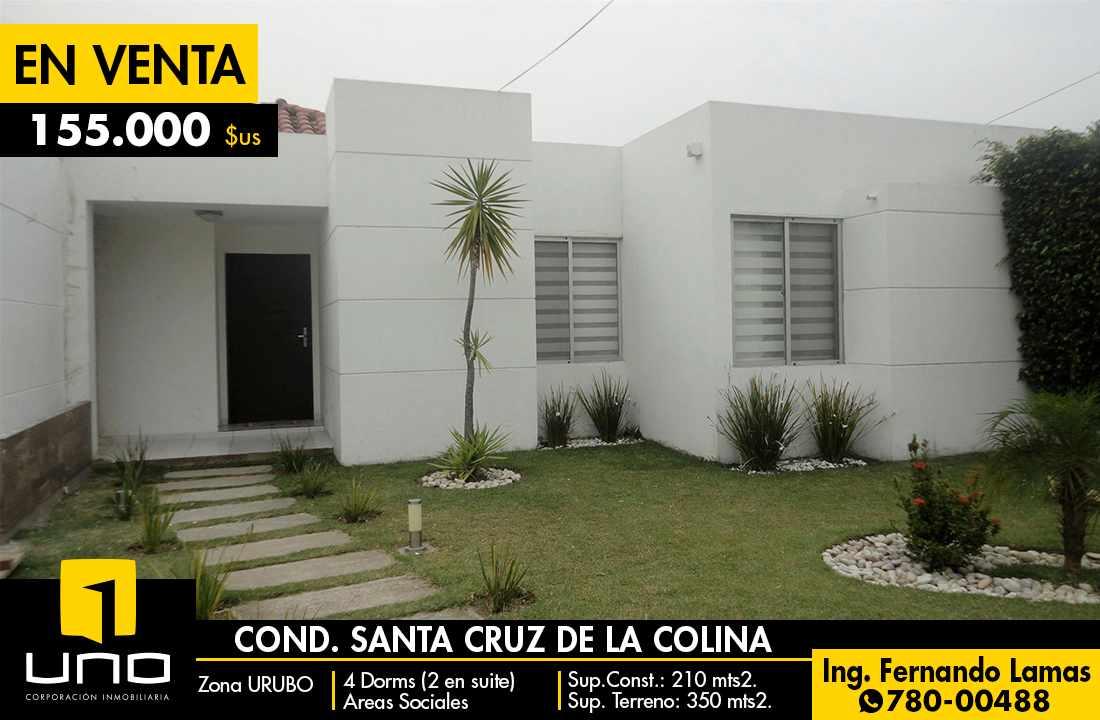 Casa en Venta Condominio Santa Cruz de La Colina, Urubo Foto 1