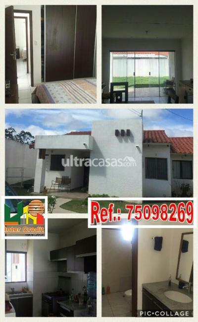 Casa en Anticretico en Santa Cruz de la Sierra Carretera Norte Km 8 al norte