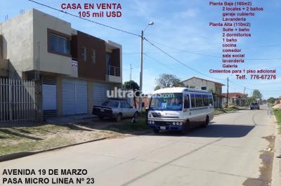 Casa en Venta en Santa Cruz de la Sierra Entre 6to y 7mo anillo Sur Urb. las palmitas, avenida 19 de marzo, zona sur, los lotes