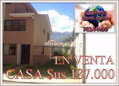Casa en Venta en Cochabamba Condebamba CASA EN CONDOMINIO AMERICA OESTE FINAL
