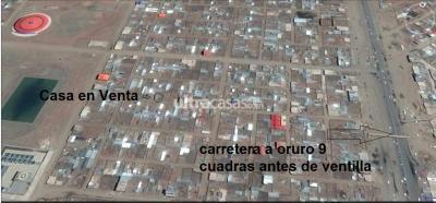 Casa en Venta en El Alto 16 de Julio  Ventilla Calle Ricardo Perez Alcala Distrito 8