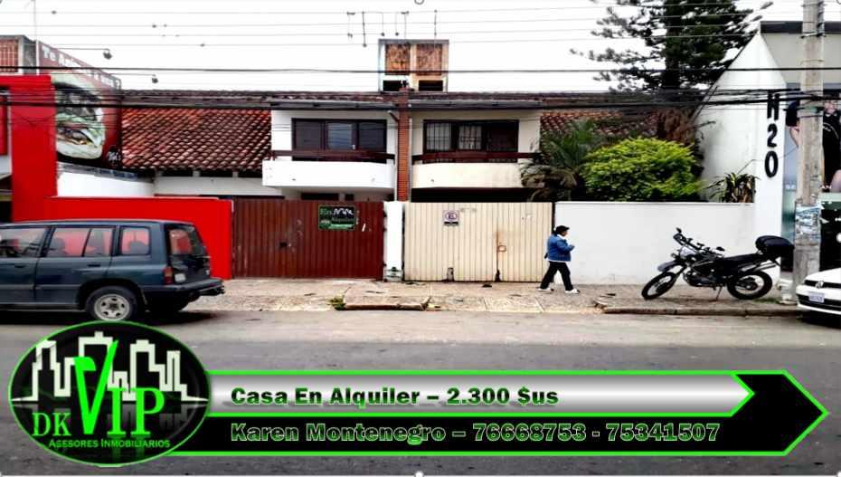 Casa en Alquiler Equipetrol 3er y 4to Anillo Foto 1