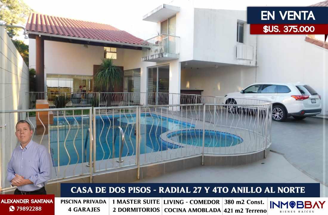 Casa en Venta AMPLIA CASA MINIMALISTA DE 2 PLANTAS RADIAL 27 Y CUARTO ANILLO Foto 1