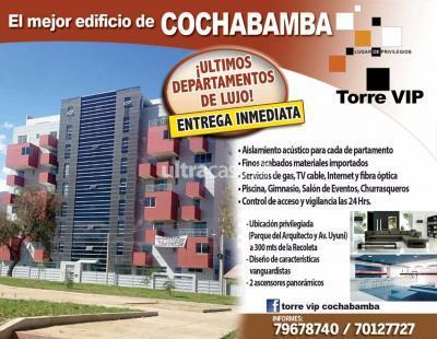 Departamento en Venta en Cochabamba Muyurina Parque del Arquitecto esq. Av. Uyuni