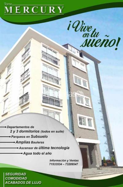 Departamento en Venta en La Paz Achumani Departamento de 3 dormitorios en suite. Achumani. Urbanizacion La Suiza