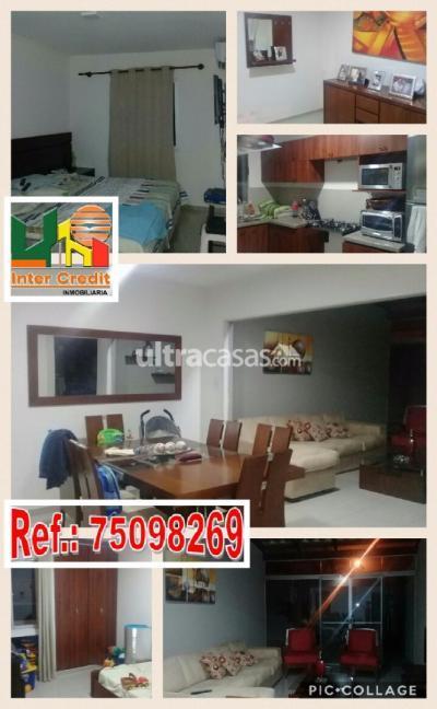 Casa en Anticretico en Santa Cruz de la Sierra Carretera Norte Condominio Sevilla