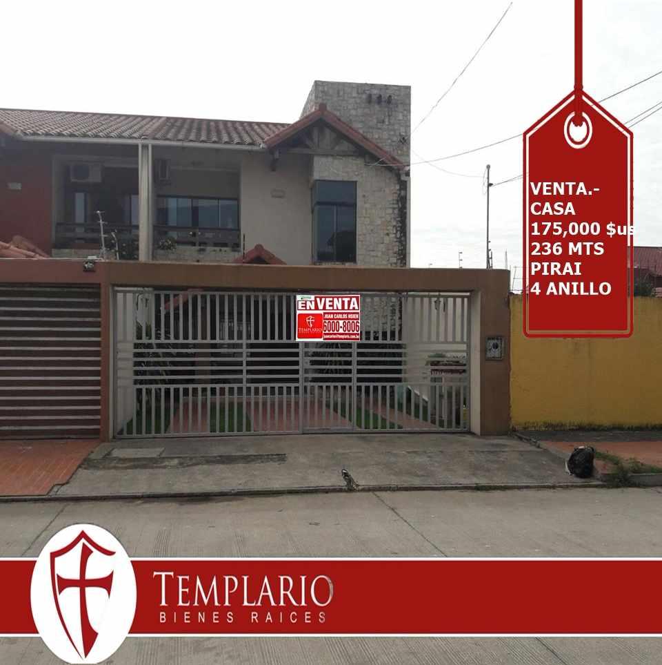 Casa en Venta Avenida Pirai 4° anillo Foto 1