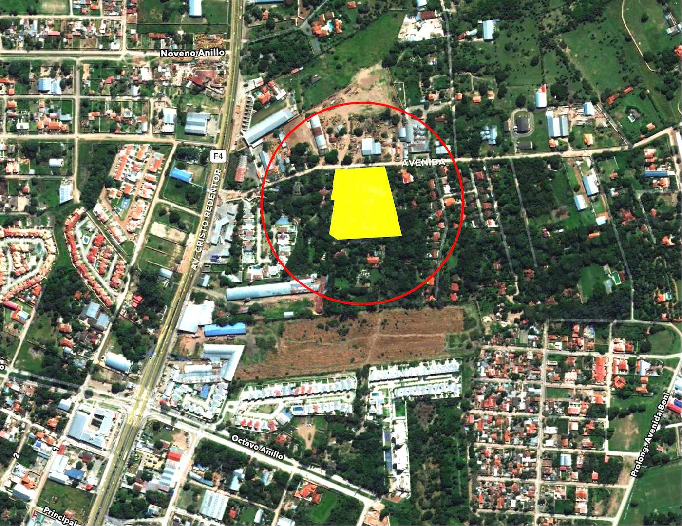 Terreno en Venta Av. Banzer Km. 7-1/2 (entre 8° & 9° anillo)... a 250 mts de la carretera Foto 5
