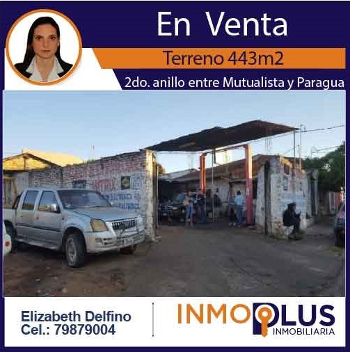 Terreno en Venta OPORTUNIDAD DE INVERSIÓN a una cuadra del segundo anillo entre avenidas Mutualista y Paraguá uso de suelo mixto. Foto 1