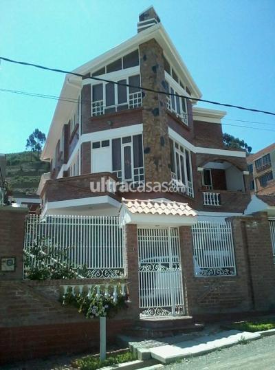 Casa en Anticretico en La Paz Achumani Urbanizacion Rosales de Achumani Calle 3 No. 21