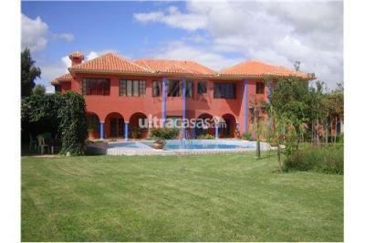 Casa en Venta en Tarija San Luis HOTEL EN TARIJA - EQUIPADO