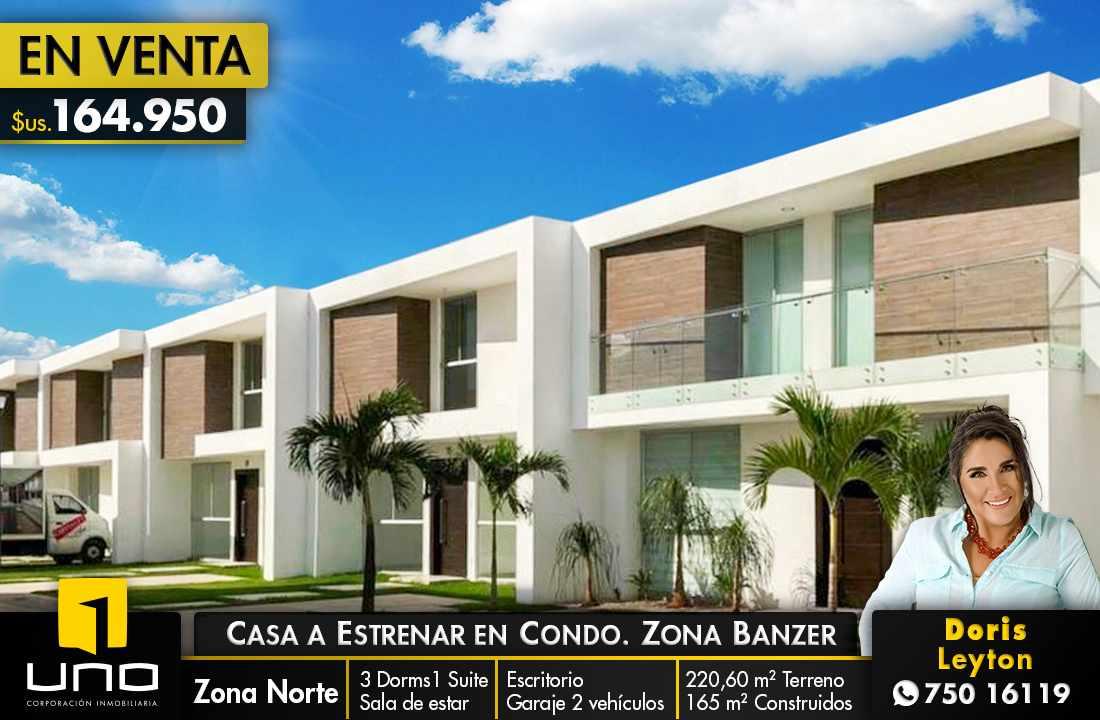 Casa en Venta En Condominio al Norte/5to Anillo vendo 2 casas a estrenar Foto 1