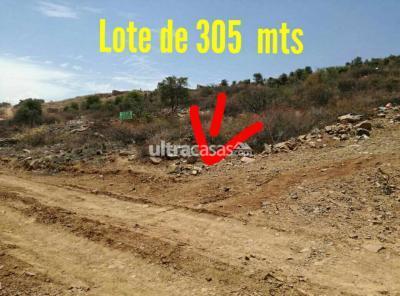 Terreno en Venta en Cochabamba Sudoeste Sivingani cerca de la parada 111-135 urbanizacion señor de exaltación sud