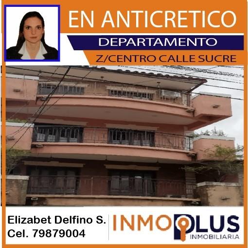 Departamento en Anticretico Calle Sucre  Foto 1