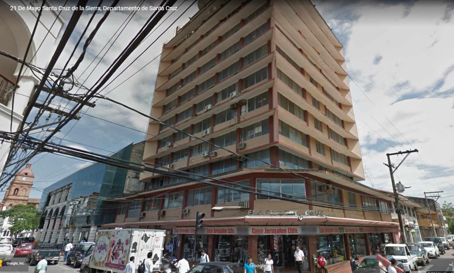 Oficina en Alquiler Edificio Santa Cruz, calle Ayacucho esquina Velasco Foto 1