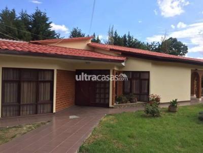 Casa en Venta en Cochabamba Tiquipaya Trojes