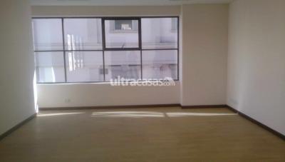 Oficina en Alquiler en La Paz Centro Oficina de 49 mts con baño privado, muy soleada, frente a la UMSA
